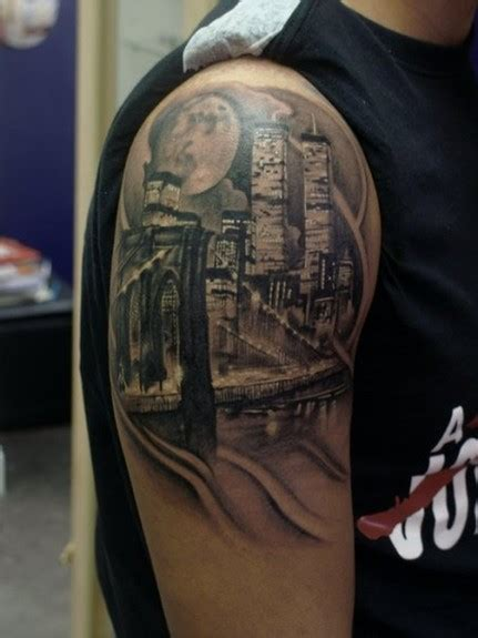 tattoo new york gallery nyc half sleeve by bili vegas tattoo inspiration worlds