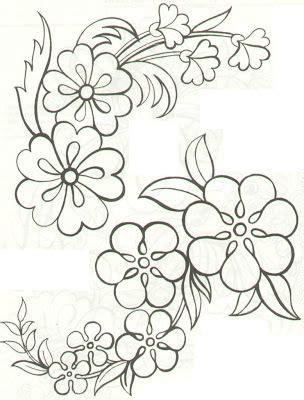 draw a pattern using flower as motif free pattern pinteres