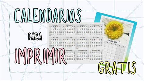 Hacer Calendario Personalizado Calendarios Para Imprimir Gratis Calendarios