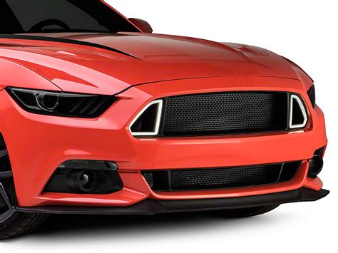 2011 mustang gt lights rtr mustang grille w led accent vent lights 389944 15 17