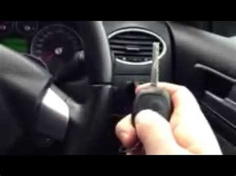 resetting key fob ford focus remote programming the ignition ford focus youtube