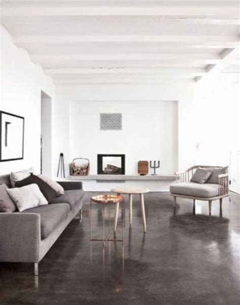 31 Concrete Flooring Ideas With Pros And Cons   DigsDigs
