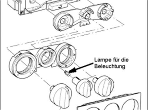 Golf 4 Beleuchtung Heizungsregler by Heizungsbedieneinheit Golf 4 Reparieren Heizung