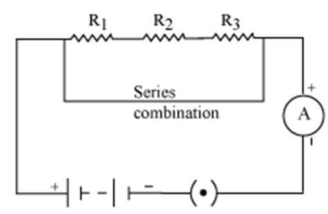 series resistor connection a derive an expression for the equivalent resistance of thr