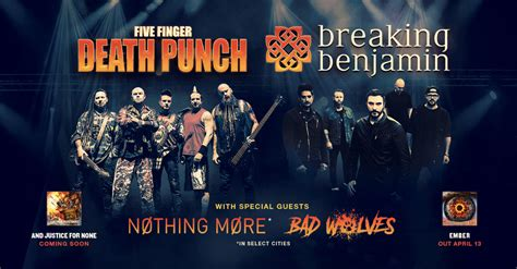 five finger death punch and breaking benjamin five finger death punch breaking benjamin tour zrock