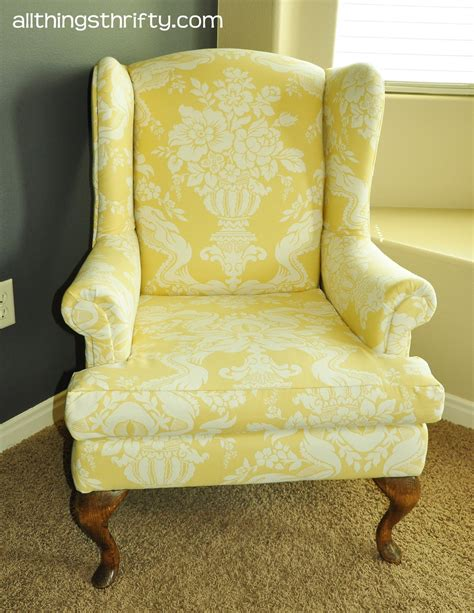 Upholstery Ideas For Wing Chairs by Upholstering A Wing Back Chair Upholstery Tips
