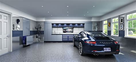 garage with living space