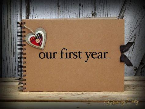 year scrapbook  year anniversary gift