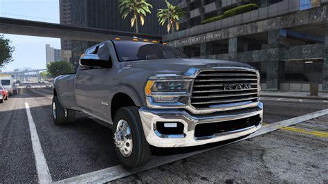 2019 Dodge Ram 3500 2019 dodge ram 3500 hd add on gta5 mods