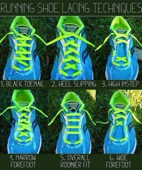 tie running shoes properly running shoes lacing on