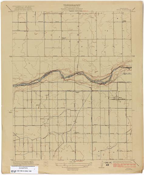 california topographic maps perry castaneda map