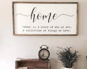 decorative wall signs for the home definition etsy
