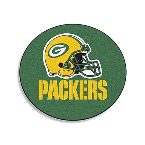 green bay packers rug buy nfl team rug in green bay packers from bed bath beyond