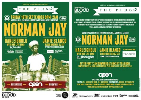 club flyer design uk 9 best norman jay mbe fri 19th sept open norwich