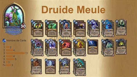 hearthstone deck druide deck druide meule