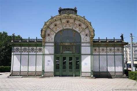 pavillon wien otto wagner pavilion karlsplatz vienna pictures