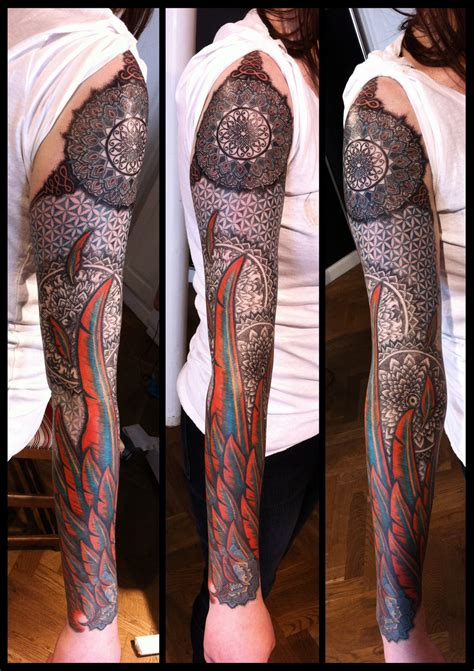 unique sleeve tattoo designs and creative ideas 8fact