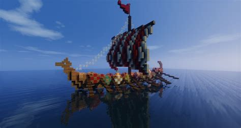 minecraft longboat the gallery for gt viking longboat minecraft