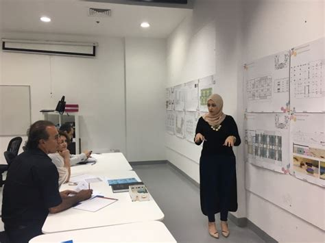 interior design graduation project evaluated  external jury