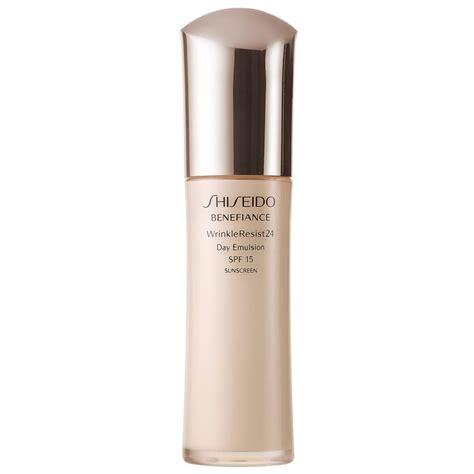 Shiseido Benefiance shiseido benefiance wrinkle resist 24 day emulsion spf15