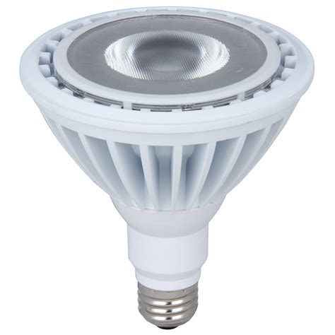 Outdoor Led Light Bulbs Shop Utilitech 23 Watt 120 W Equivalent Par38 Medium Base Daylight Dimmable Outdoor Led Flood