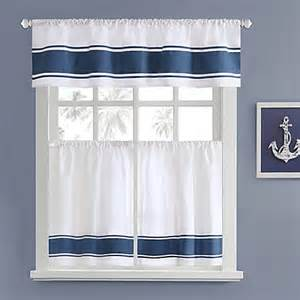 Lighthouse Kitchen Curtains Harbor House Sailor Window Curtain Tier Pair Bed Bath Beyond