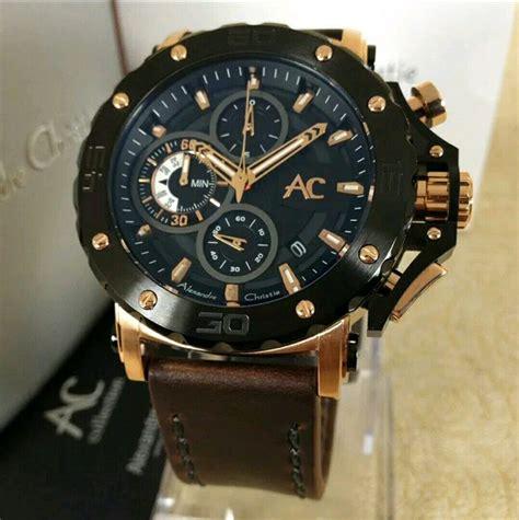 jual jam tangan alexandre christie original bergaransi
