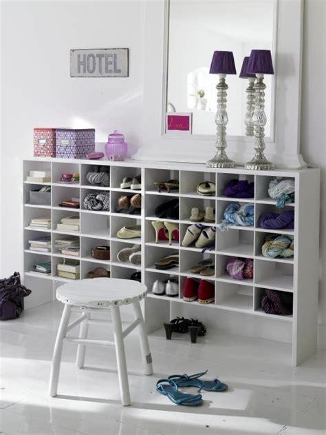 Kleiderschrank Mit Fächern by Dieses Regal Bietet Optimalen Stauraum F 252 R Schuhe Und