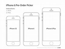 Image result for iPhone 6 Plus Template