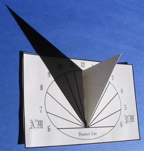 How To Make A Sundial Out Of Paper - hila sundial calculator