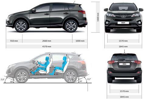 Toyota Rav4 Size How Is A Rav 4 2015 Autos Post