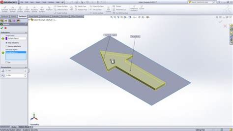 solidworks tutorial indent solidworks indent feature