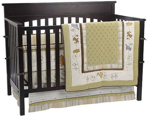 classic pooh crib bedding classic winnie the pooh 4 piece crib bedding set by