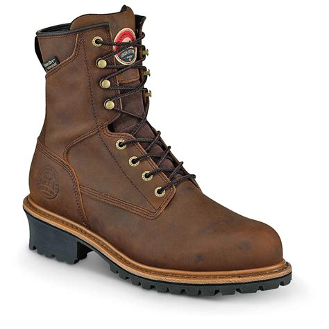 setter s boots setter s mesabi waterproof 8 quot steel toe logger