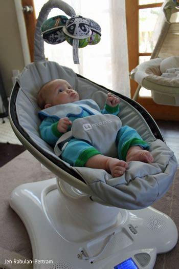 moms swing the new 4moms mamaroo review techlicious