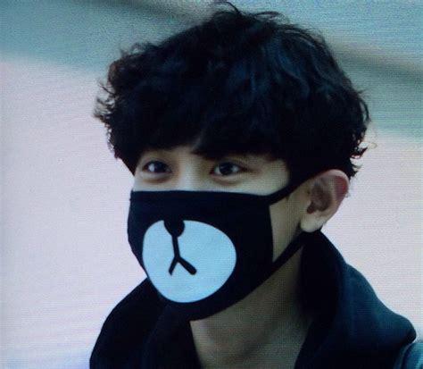 Masker Kpop Masker Rilakuma Chanyeol popular exo chanyeol mask buy cheap exo chanyeol mask lots from china exo chanyeol mask