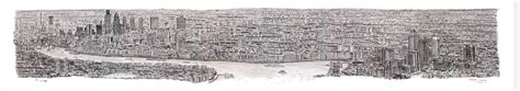 time lapse of brisbane panorama by stephen wiltshire youtube sohei nishino s diorama maps message board basketball