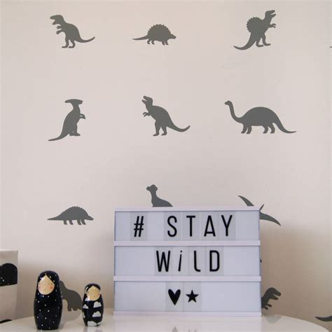 dino wall stickers dinosaur wall stickers by parkins interiors