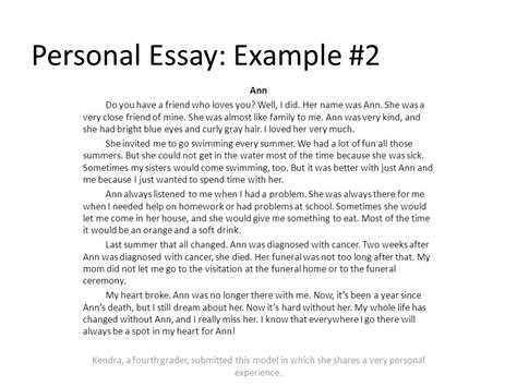 What Is A Personal Narrative Essay by Personal Essay Def Kumagusu Band Info