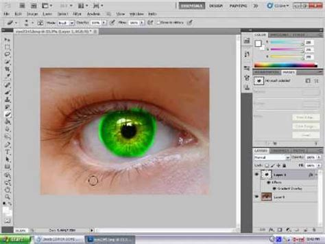 photoshop cs5 red eye tool tutorial photoshop cs5 multi eye colour tutorial youtube