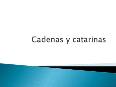 transmisión por cadenas y catarinas cadenas y catarinas