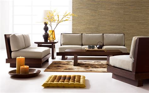 Living Room Wood Furniture | modern wood living room furniture trellischicago