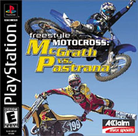 freestyle motocross game freestyle motorcross mcgrath vs pastrana sony playstation