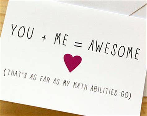 valentines gifts for geeky boyfriend you me awesome math nerdy anniversary