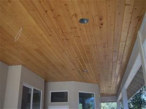 Cedar T G Ceiling by Exterior Porch Ceiling Pictures And Photos