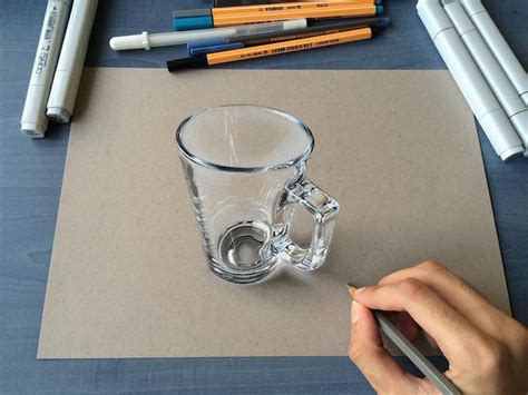 3d drawing this artist creates 3d drawings that look incredibly real