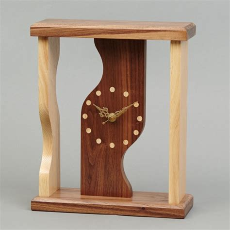gold faced clock beveledge clock slender beveledge