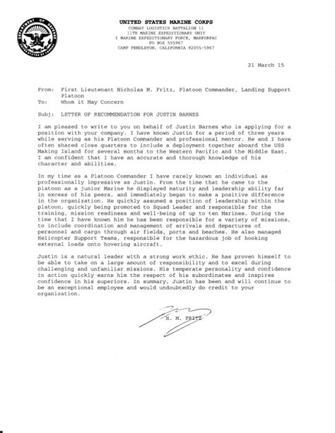 Letter Of Recommendation Beginning letter of recommendation