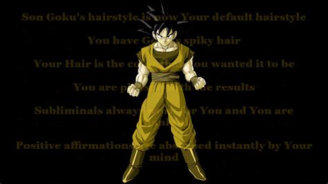 Goku Hairstyle by Goku Hairstyle Subliminal Request