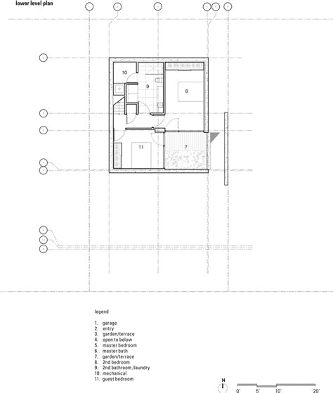 cross floor plan gallery of holy cross house balaban architect 18